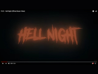 "F.K.Ü.から""Hell Night""のMVが届きました!"