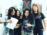 Japanese Speed Metal Band HELL FREEZES OVER sign to Spiritual Beast!